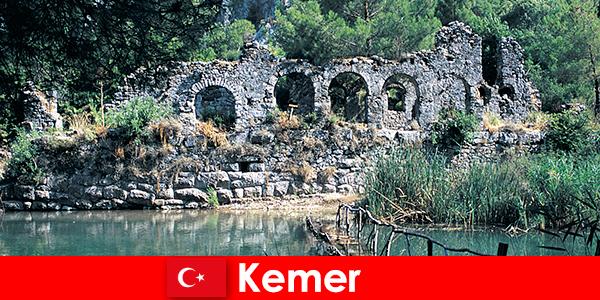 Kemer repräsentiert den europäischen Teil der Türkei