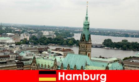 Reisen und Unterhaltung nach Reeperbahn in die Stadt Hamburg