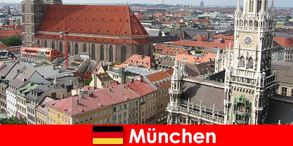 Als Urlauber mit Joggen oder Fitness Möglichkeiten in der Stadt München