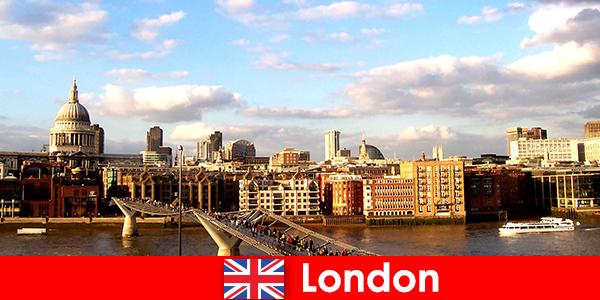 Freizeitaktivitäten für Touristen im Stadt London von England