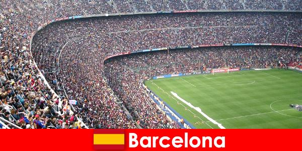 Barcelona satu perjalanan mimpi untuk pelancong dengan Sukan & pengembaraan
