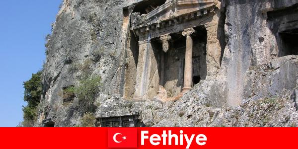 Fethiye eine Antike Stadt am Meer mit vielen Denkmäler