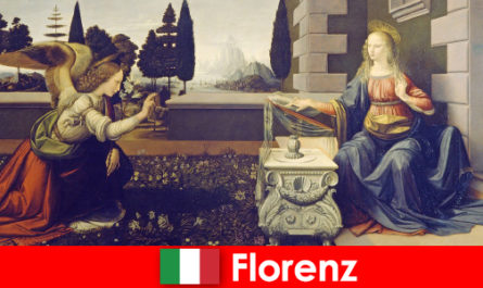 Touristen kennen die kulturelle Bedeutung von Florenz für die bildende Kunst