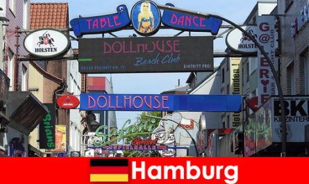 Hamburg Reeperbahn - Nachtleben Bordells und Escortservice für Sextourismus