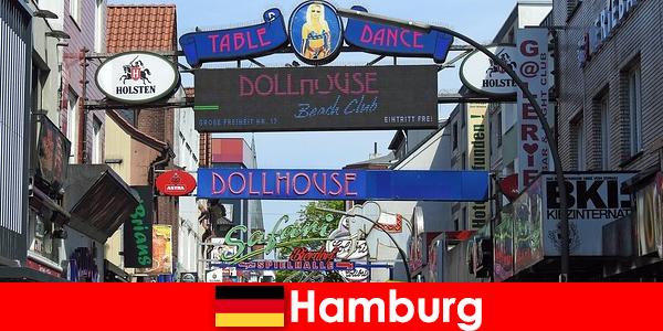 Hamburg Reeperbahn – Nachtleben Bordells und Escortservice für Sextourismus