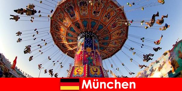 Acara sukan antarabangsa dan Oktoberfests di Munich adalah magnet untuk Tetamu