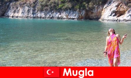 Strandurlaub in Mugla, eines der kleinsten Provinzhauptstädte der Türkei