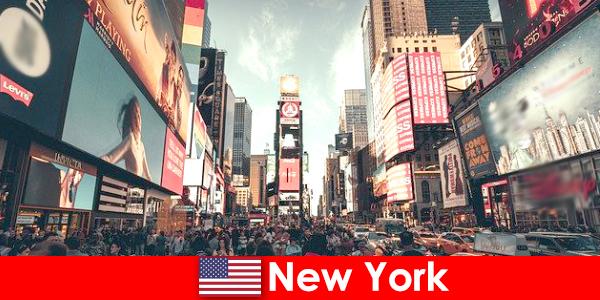 Shoppingtour in New York für Millionen von Reisende ein Muss