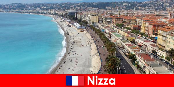 Traumstrand Nizza erleben in Frankreich