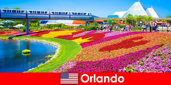 Orlando die Touristen-Hauptstadt der Vereinigten Staaten mit zahlreichen Themenparks