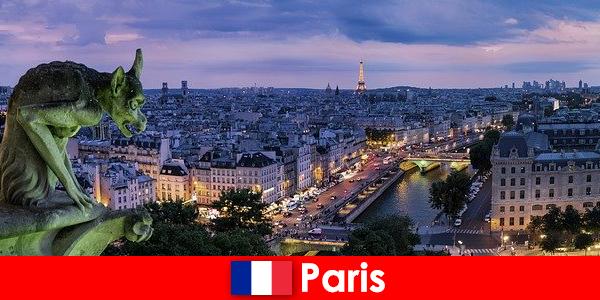 Paris eine Künstler Stadt mit besonderen Faszination an Bauwerken