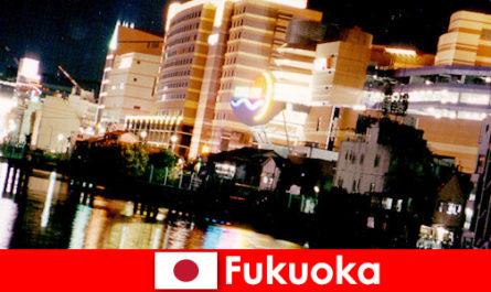 Fukuoka zahlreichen Diskotheken, Nachtclubs oder Restaurants sind für Urlauber ein Top Treffpunkt
