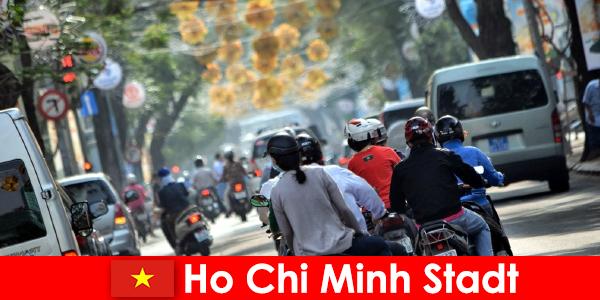 Ho Chi Minh Stadt HCM bzw. HCMC oder HCM City ist berühmt als Chinatown