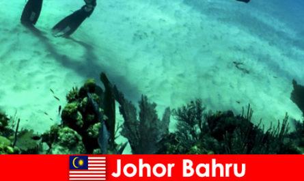 Abenteueraktivitäten in Johor Bahru Tauchen, Klettern, Wandern und vieles mehr