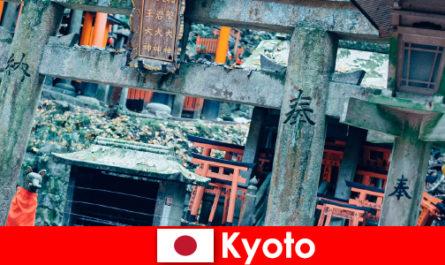 Kyoto japanische Architekturen der Vorkriegszeit wird von Ausländern immer bewundert