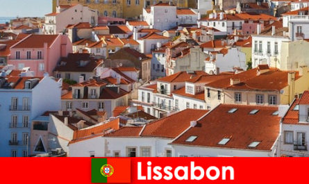 Lissabon die Küstenstadt Top Reiseziel mit Strand Sonne und leckerem Essen