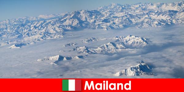 Mailand eines der besten Skigebiete für Touristen in Italien