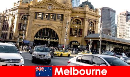 Melbourne der größte Freiluftmarkt der südlichen Hemisphäre ein Treffpunkt für Fremde
