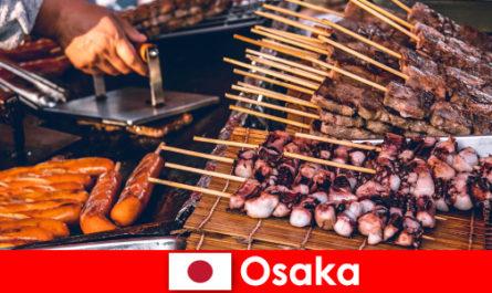 Osaka ist die Küche Japans und ein Anlaufpunkt für jeden der ein Urlaubsabenteuer sucht