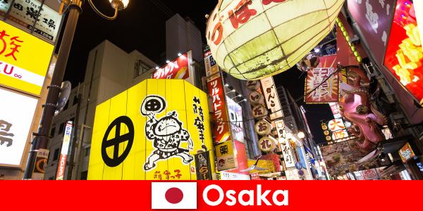 Die komödiantische Unterhaltungskunst ist immer Hauptthema für Fremde in Osaka