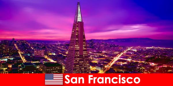 San Francisco ein lebendiges kulturelles und wirtschaftliches Zentrum für Einwanderer