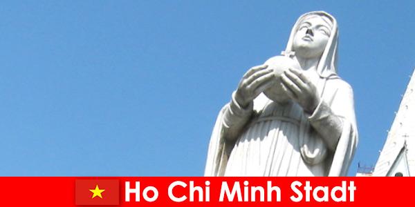 Wirtschaftliches Zentrum Vietnams Ho Chi Minh Stadt ein Zielort für Ausländer