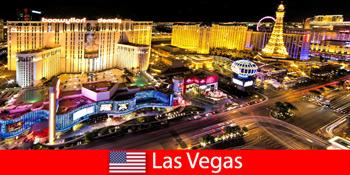Schillerndes Spieleparadies in Las Vegas Vereinigte Staaten für Gäste aus aller Welt