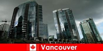 Vancouver in Kanada ist für Fremde immer ein Zielort für imposante Hochbauten