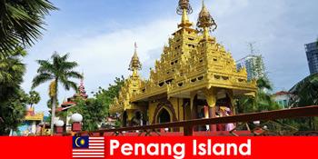 Top Erlebnis für Ausländische Touristen erleben in den Tempelanlagen von Penang Island