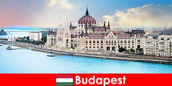 Budapest wunderschöne Stadt mit vielen Sehenwürdigkeiten für Touristen