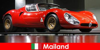 Mailand Italien immer stets ein beliebtes Reiseziel für Autoliebhaber aus aller Welt
