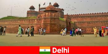 Pulsives Leben in Delhi Indien für Kulturreisende aus der ganzen Welt