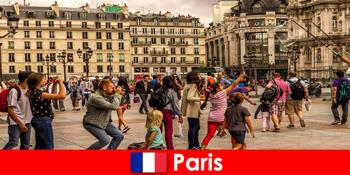 Nach Paris kommen die meisten Fremde um sich kennenzulernen