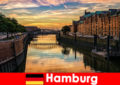 Architektonische Schönheit und Unterhaltung für Kurzurlauber in Hamburg Deutschland