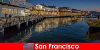 San Francisco in Vereinigten Staaten ist das Hafenviertel ein heimlicher Favorit von Urlaubern