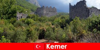 Studienreise in die alte Ruinen nach Kemer Türkei für Entdecker