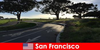 Erkundungsreise für Ausländer mit dem Fahrrad im San Francisco Vereinigte Staaten
