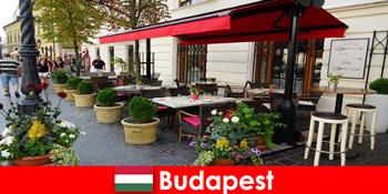 Kurzurlaubsziel in Budapest Ungarn für Besucher mit Geschmack für gehobene Gastronomie