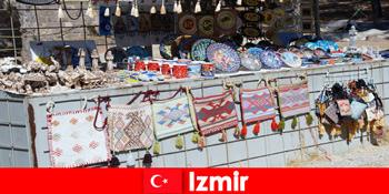 Bummelerlebnis für Fremde in die Basarvierteln von Izmir Türkei