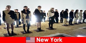 Kulturreise für Fremde in den berühmten Theaterviertel von New York Vereinigte Staaten