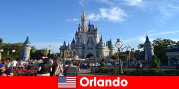 Familienurlaub mit Kindern im Themenpark Disneyland Orlando Vereinigte Staaten