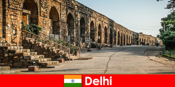 Privatführungen durch die Stadt von Delhi Indien für interessierte Kultur Urlauber