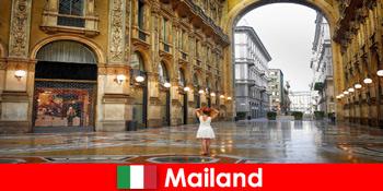 Europareise in die berühmten Opernhäusern und Theater in Mailand Italien
