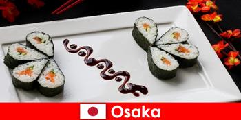 Osaka Japan für Fremde eine kulinarische Tour durch die Stadt