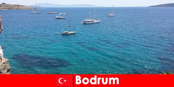 Percutian mewah untuk warga asing di teluk indah di Bodrum Turki