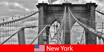 Spontane Auslandsreise in die Weltmetropole New York Vereinigte Staaten