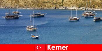 Erlebnisreise mit Boot in Kemer Türkei für verliebte Paare und Familien
