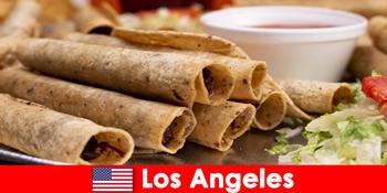 Auslandsbesucher erwartet ein vielseitiges kulinarisches Event in den besten Restaurants in Los Angeles Vereinigte Staaten