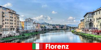 Florenz Italien Marken Stadt für viele Fremde