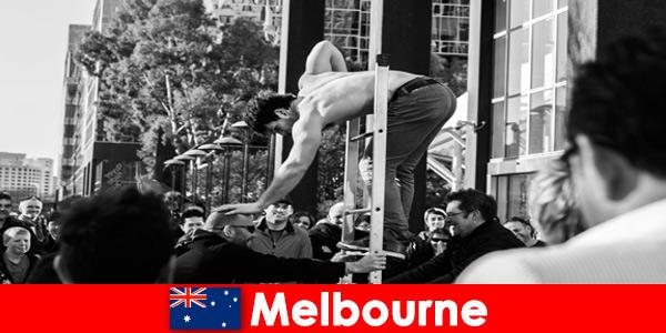 Seni dan budaya untuk pembuat cuti kreatif di Melbourne Australia